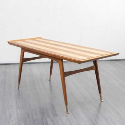Vintage 1950s two-tone coffee table