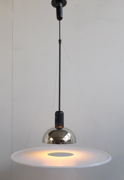 Frisbi hanging lamp by Achille Castiglioni for Flos, 1980s