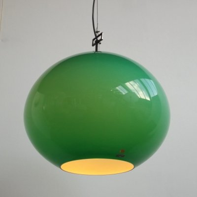 Onion hanging lamp by Alessandro Pianon for Vistosi, 1960s