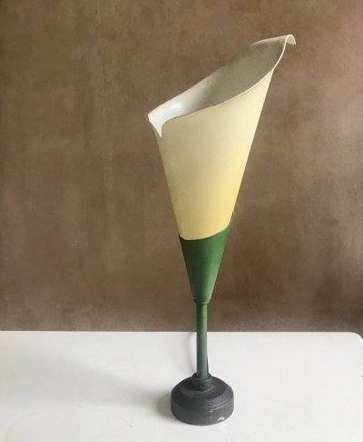 Italian Lilly Desk Lamp, 1950s