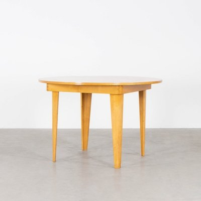 Dining table by Cor Alons for C. den Boer, 1940s