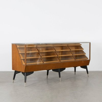 Vintage counter / showcase by Hyma Sweden, 1960s