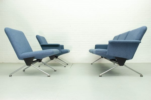 1432 (2x) & 1715 Lounge set by Andre Cordemeyer for Gispen, 1961