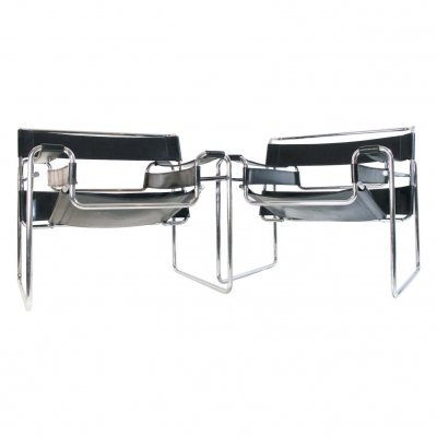 Bauhaus Wassily Chair by Marcel Breuer for Knoll International, 1960s