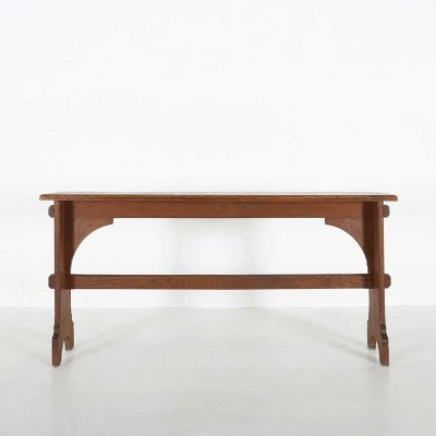 Wooden church console, 1920s
