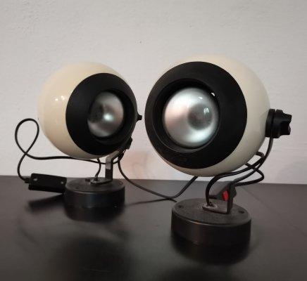 Pair of Wall Lamps, 1970s