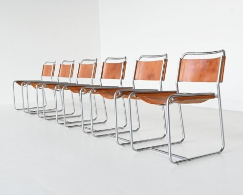 Claire Bataille & Paul Ibens SE18 dining chairs for 't Spectrum, The Netherlands 1971