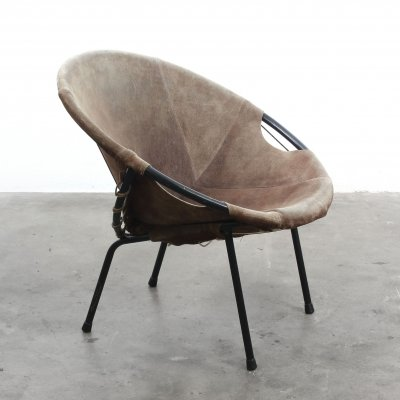 Balloon Chair by Lusch Germany, 1960s