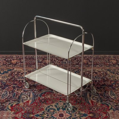 1950s serving trolley by Bremshey & Co