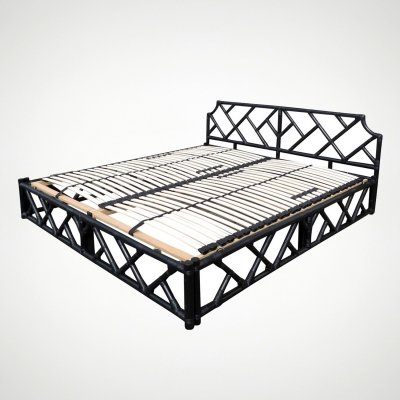 Dutch bamboo bed, 1970s