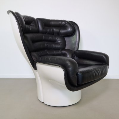 1st edition Elda chair by Joe Colombo for Comfort, 1960s