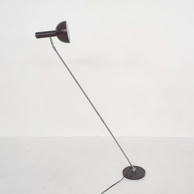 Mid-century adjustable floor lamp by Busquet for Hala, the Netherlands 1950's