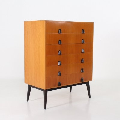 Maple & pear tree buffet by Rudolf Frank for Erwin Behr, 1950's