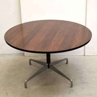 Segemented Rosewood dining table by Charles & Ray Eames for Herman Miller, 1960s