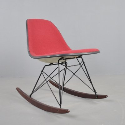 Fiberglass side chair / rocking chair by Charles & Ray Eames, 1970s