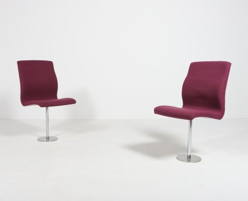Set of two 'Oxford' chairs by Arne Jacobsen for Fritz Hansen