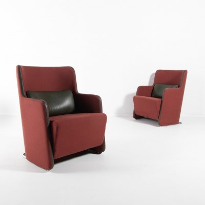 'Solo' armchairs by Lindau & Lindecrantz for Lammhults