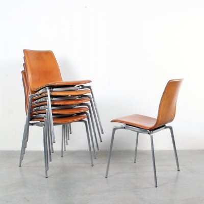 Set of 6 Gorka dining chairs by Jorge Pensi for Akaba, 1990s