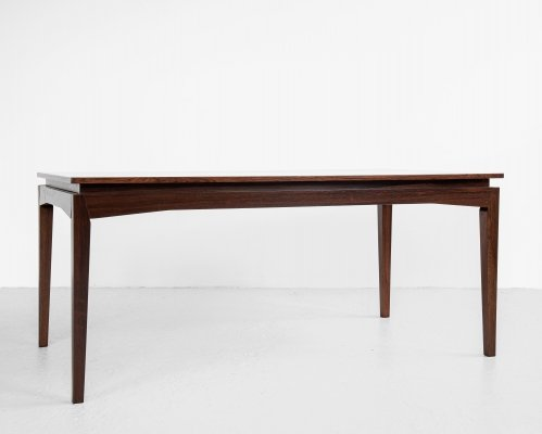 Midcentury Danish dining table in rosewood by Bramin, 1960s