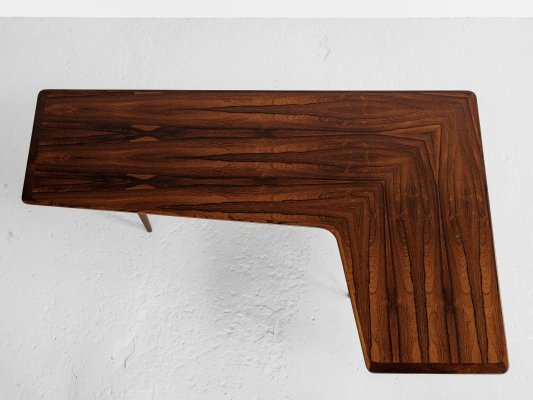 Midcentury Danish Boomerang coffee table in rosewood, 1960s