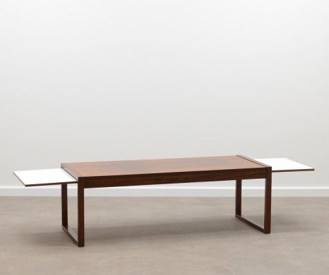 60s extendable rosewood coffee table