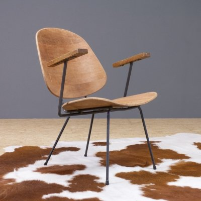 Kembo vintage lounge chair model 302 by W.H.Gispen