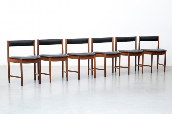 Set of 6 dining chairs nº9893 by Mcintosh, 1960s