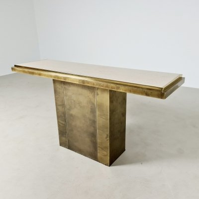 Console table by Belgo Chrom, 1970s