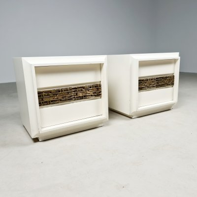 Set of 2 night stands by Luciano Frigerio, 1970s