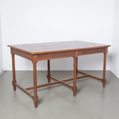 Antique Library Reading Table