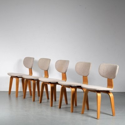 Set of 5 'SB03' Dining chairs by Cees Braakman for Pastoe, Netherlands