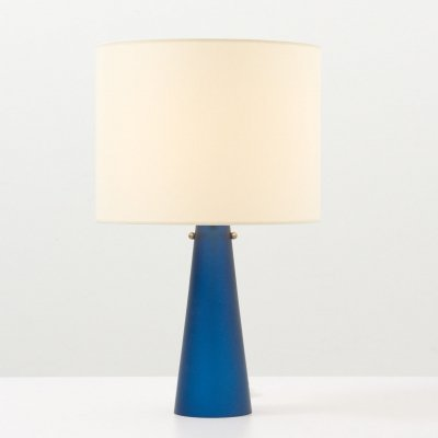 Table Lamp with Base in Glass, 1960's