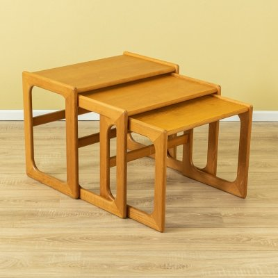1960s nesting tables by Salin