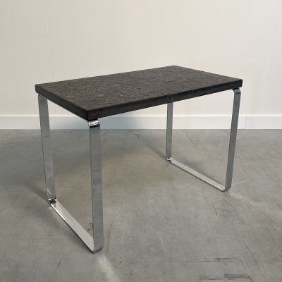 Design side table with slate stone by Draenert