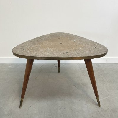 Ilse Möbel side table with mosaic, 1950s