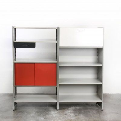 System 5600 wall unit by André Cordemeyer for Gispen, 1960s