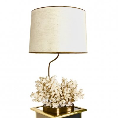 Willy Daro Coral Table Lamp, 1960s
