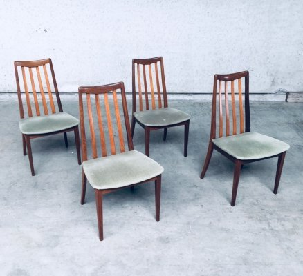 Dining Chair set by Leslie Dandy for GPlan, England 1960's