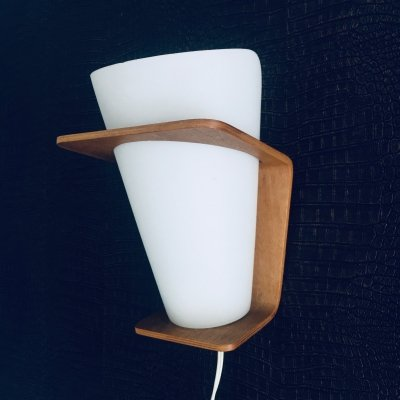 Wall Lamp NX 41 by Louis Kalff for Philips, Holland 1960's