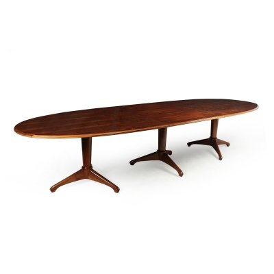 Mid Century Dining Table by Andrew J Milne, 1954