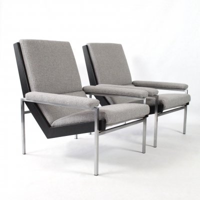 Set of two lotus chairs by Rob Parry for Gelderland, 1950s