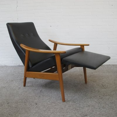 Adjustable relax Lounge Armchair by Milo Baughman, 1960s
