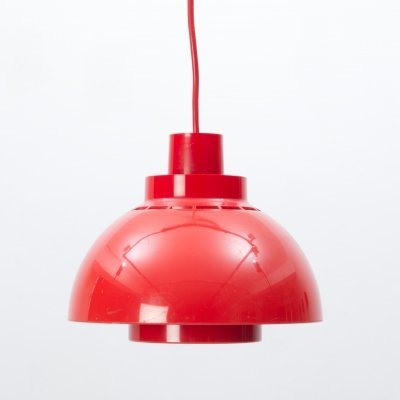 ABS Plastic 'Minisol' pendant lamp by K. Kewo for Nordisk Solar Compagni, 1960s