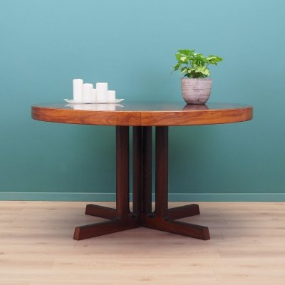 Rosewood table by Johannes Andersen for Hans Bech, Denmark 1970s