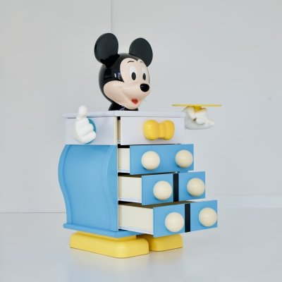 Mickey Mouse Drawer cabinet by Pierre Colleu for Starform, 1980s