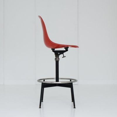 Adjustable swivel side chair by Charles & Ray Eames for Herman Miller, 1960s