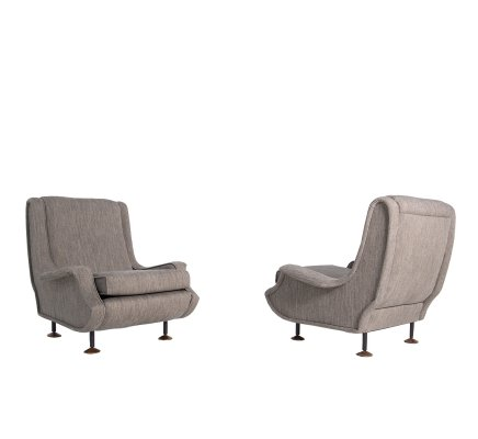 Pair of Lady armchairs by Marco Zanuso, Italy 1951