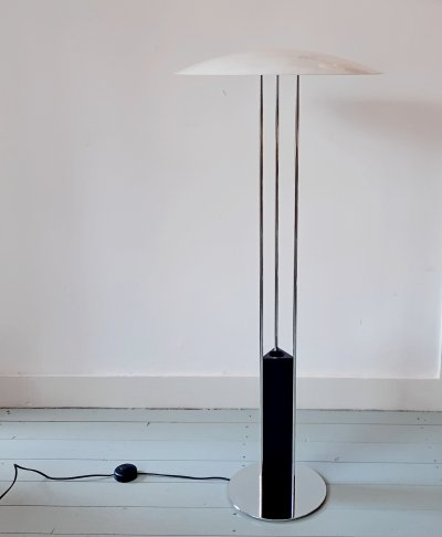 Gino floor lamp by Bjarne Frost & Ole Jesperson for Solar, 1980s
