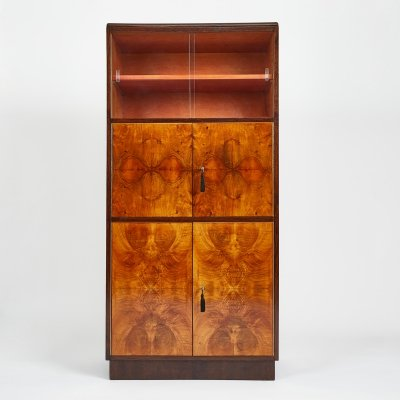Very Rare Art Deco Secretaire by Jindrich Halabala for UP Závody, 1930s