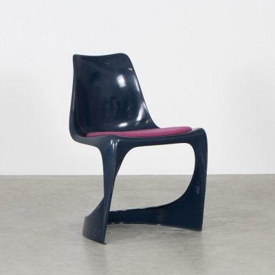 2 x Model 290 dining chair by Steen Østergaard for Cado, 1970s